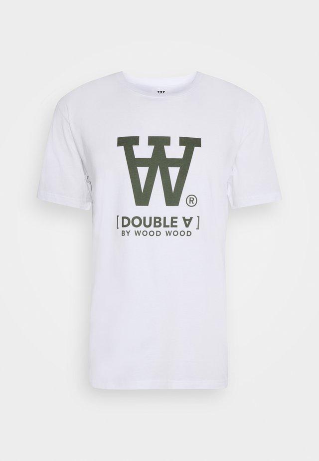 ACE  - Print T-shirt - bright white