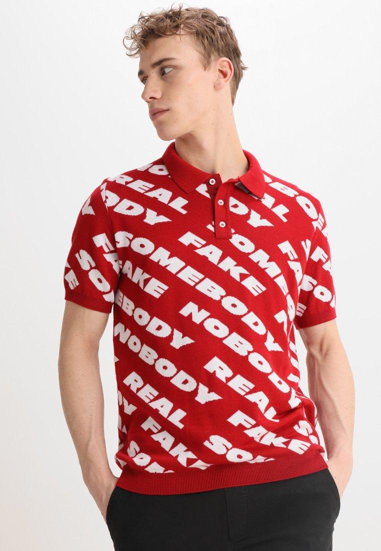Wood Wood - SCOTT - Poloshirt - red nosome