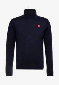 Wood Wood - LUC TURTLENECK - Maglione - navy - 3