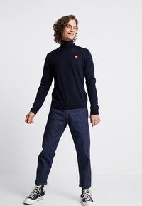 Wood Wood - LUC TURTLENECK - Maglione - navy - 1