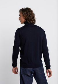 Wood Wood - LUC TURTLENECK - Maglione - navy - 2