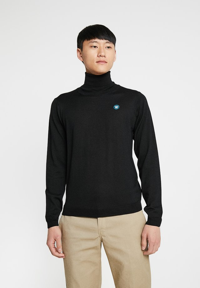 LUC TURTLENECK - Trui - black