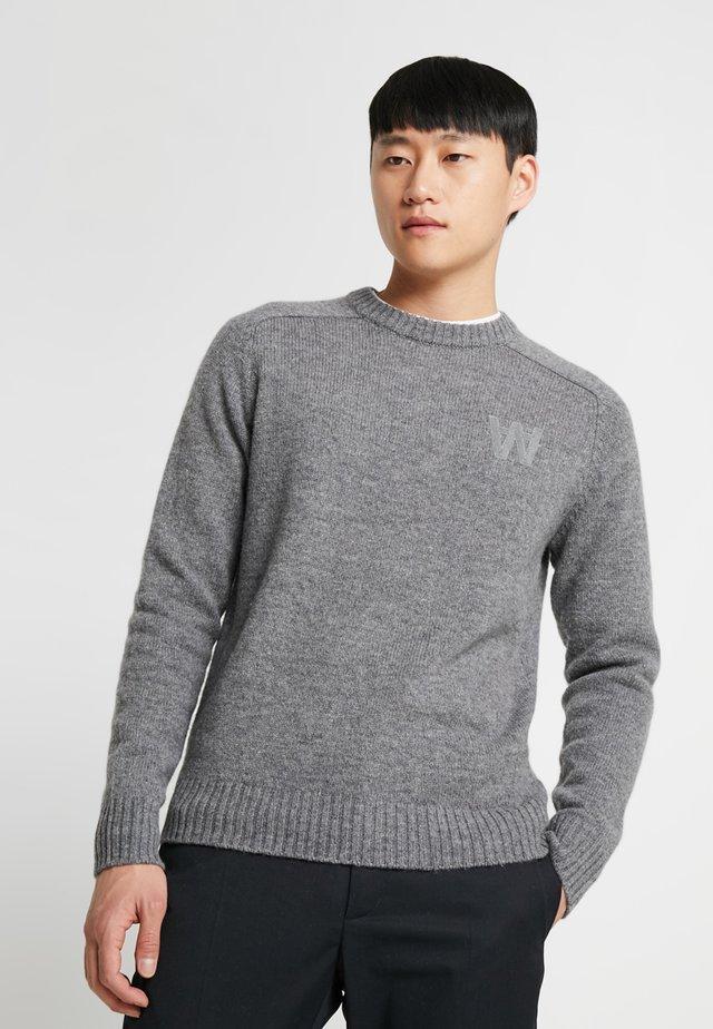 KEVIN - Jumper - grey melange