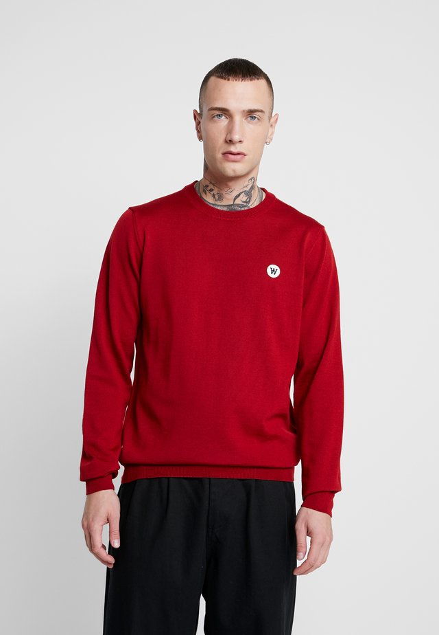 KIP CREWNECK - Jumper - rust