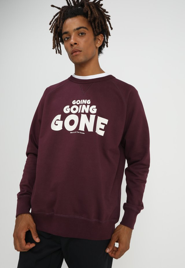 HESTER - Sweatshirt - burgundy