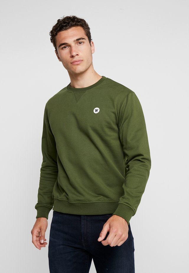 TYE - Sweatshirt - army green