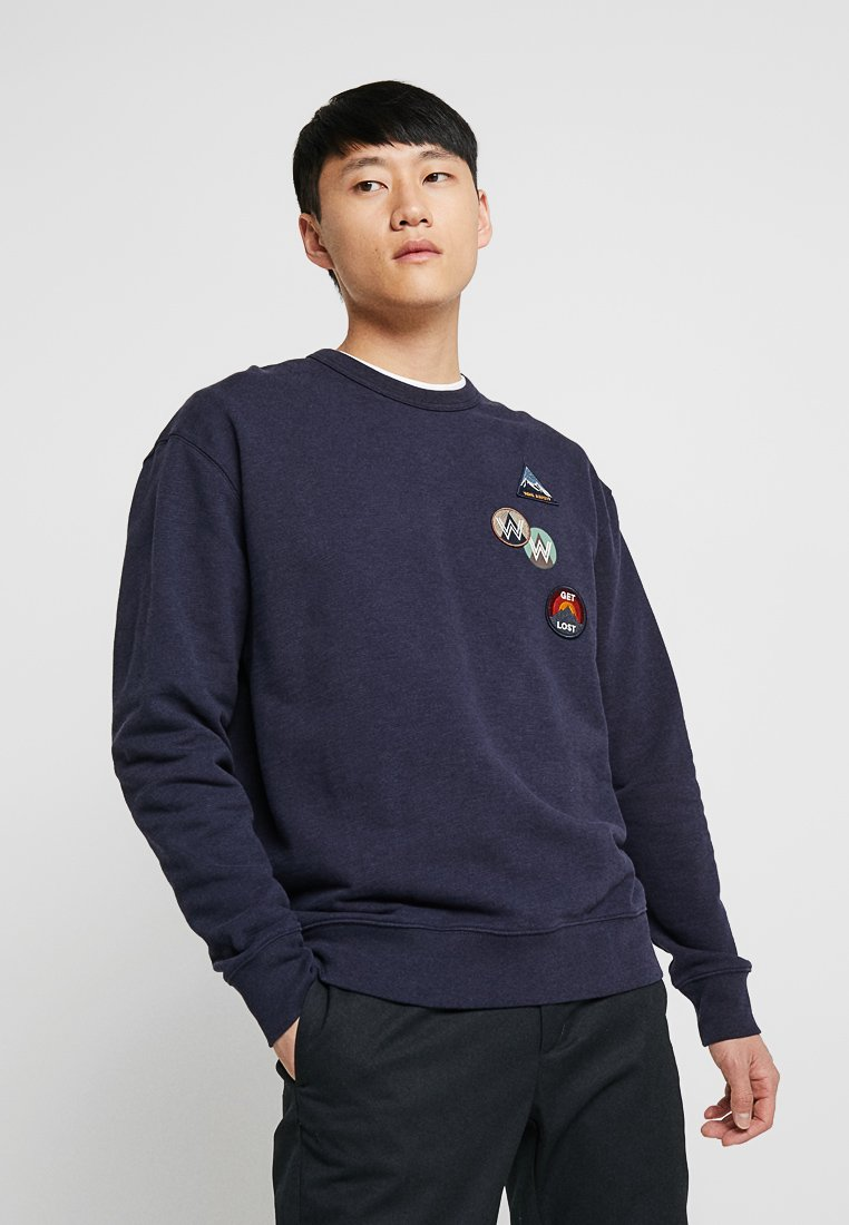 Wood Wood - HUGO  - Sweatshirt - navy
