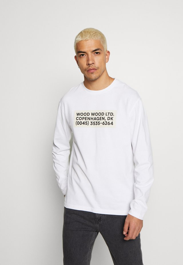 ANAKIN LONG SLEEVE - Langarmshirt - bright white