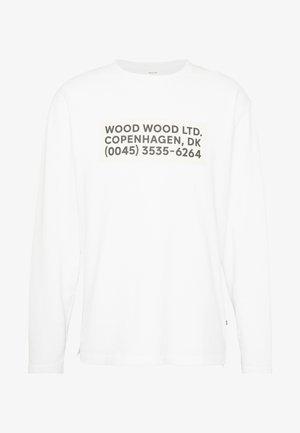 ANAKIN LONG SLEEVE - T-shirt à manches longues - bright white
