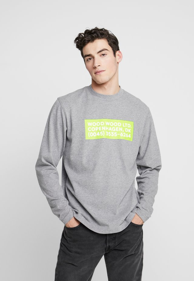 ANAKIN LONG SLEEVE - T-shirt à manches longues - grey melange
