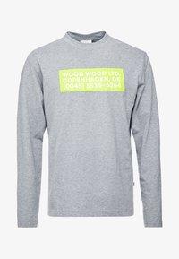 Wood Wood - ANAKIN LONG SLEEVE - Pitkähihainen paita - grey melange - 3