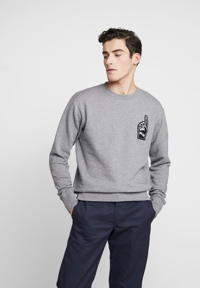 HUGH  - Sweater - grey melange