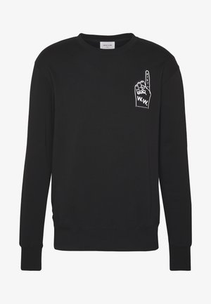 HUGH  - Sweatshirt - black