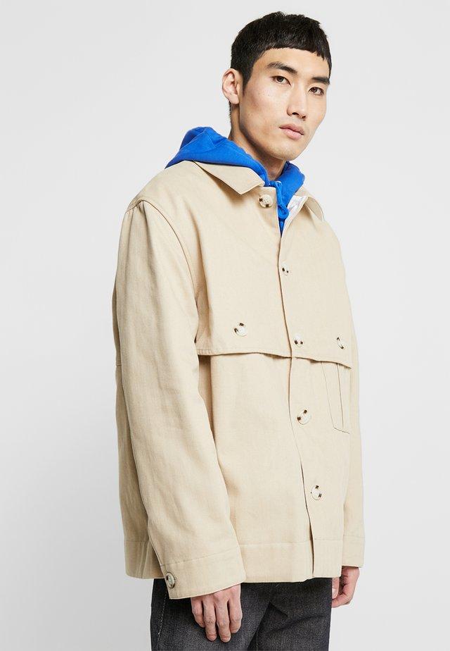 VASCO JACKET - Summer jacket - light khaki