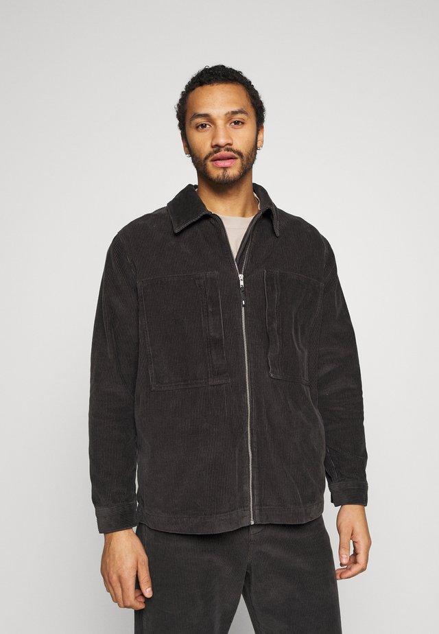 GALE JACKET CORD - Summer jacket - black