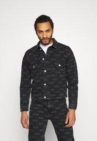 Wood Wood - CAM JACKET - Denim jacket - black - 0