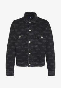 Wood Wood - CAM JACKET - Denim jacket - black - 4