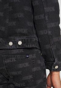 Wood Wood - CAM JACKET - Denim jacket - black - 5