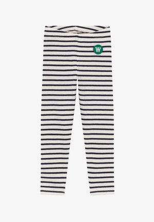 IRA - Legginsy - off-white/navy