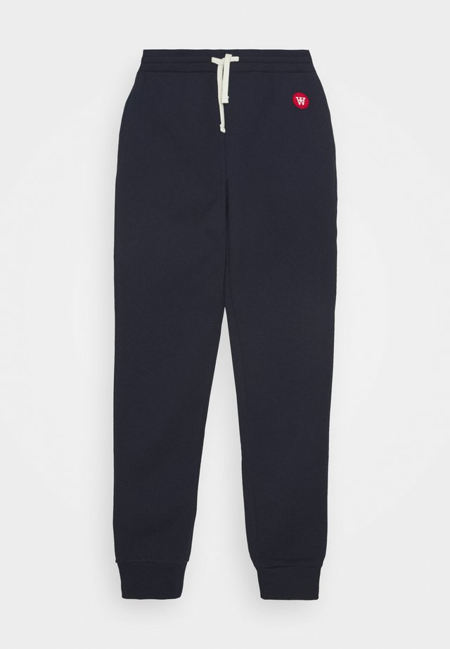 RAN KIDS TROUSERS - Tracksuit bottoms - navy