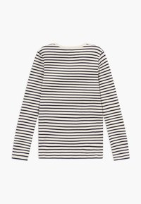 Wood Wood - KIM KIDS LONG SLEEVE - Long sleeved top - off-white/navy stripes - 1
