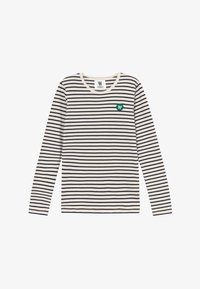 Wood Wood - KIM KIDS LONG SLEEVE - Long sleeved top - off-white/navy stripes - 2