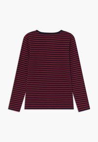 Wood Wood - KIM KIDS - Top sdlouhým rukávem - navy/red stripes - 1