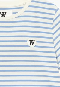 Wood Wood - OLA KIDS - Camiseta estampada - off white/blue stripes - 3