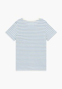 Wood Wood - OLA KIDS - Camiseta estampada - off white/blue stripes - 1