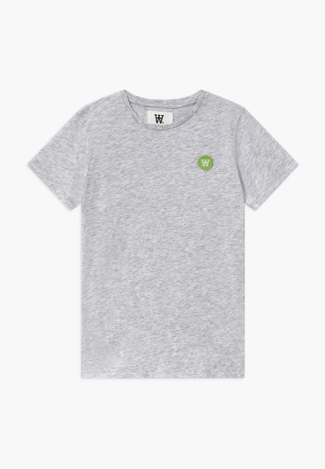 OLA KIDS  - Print T-shirt - light grey melange