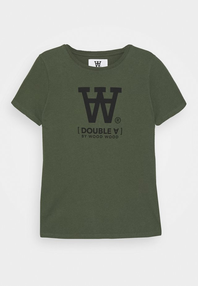 OLA KIDS - T-shirt imprimé - army green