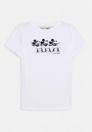 OLA KIDS - Camiseta estampada - bright white