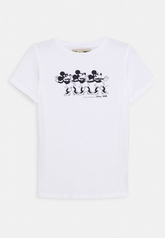 OLA KIDS - Camiseta estampada - bright white