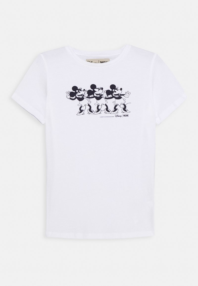 Wood Wood - OLA KIDS - T-shirt z nadrukiem - bright white
