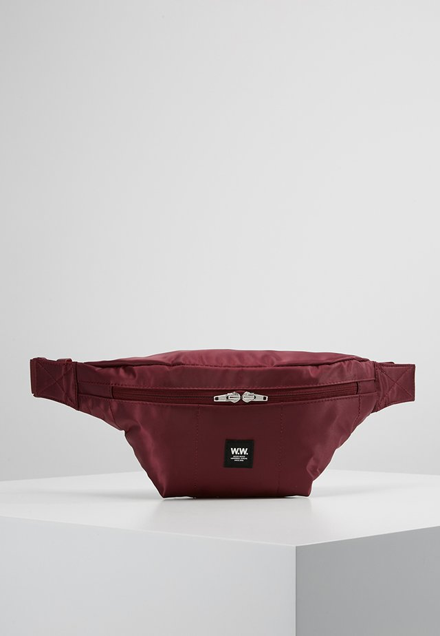 BUM BAG - Gürteltasche - burgundy