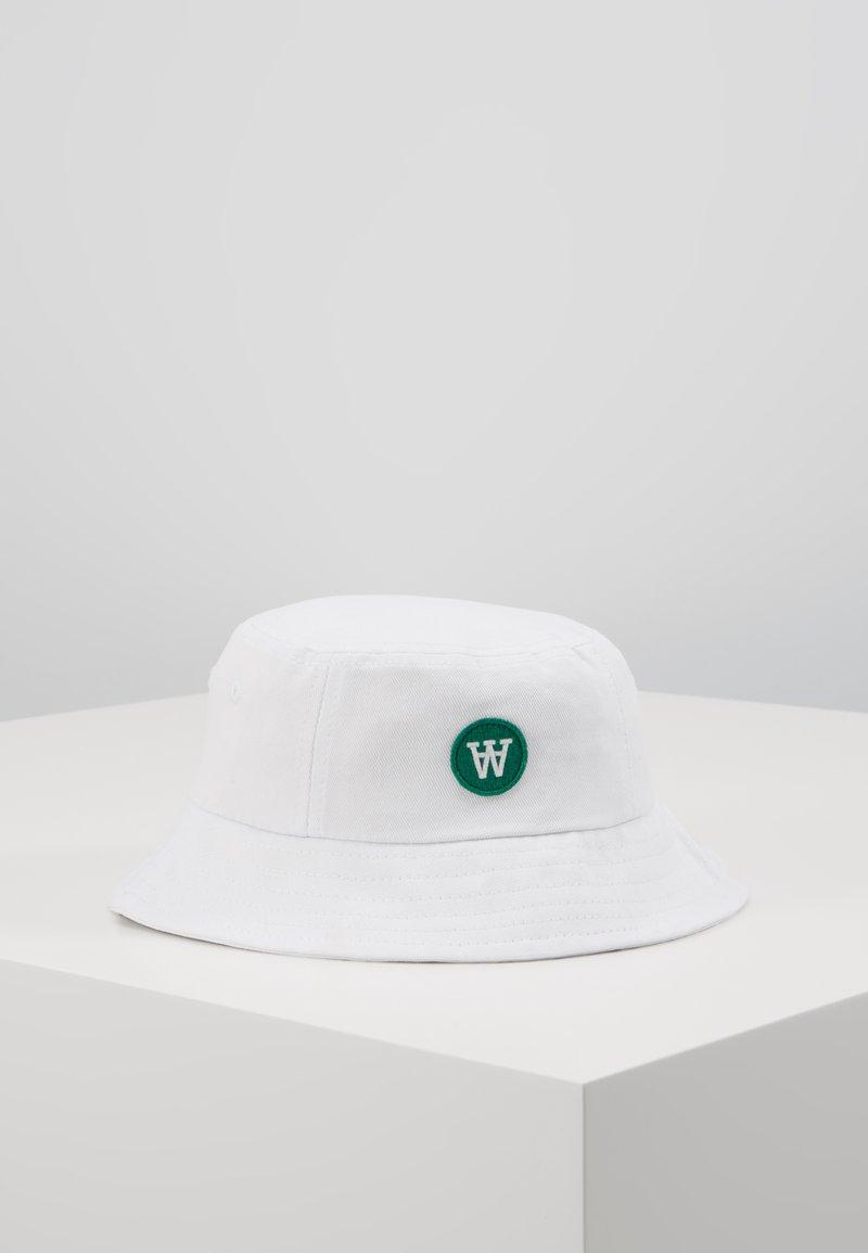 Wood Wood - VAL BUCKET HAT - Klobouk - white
