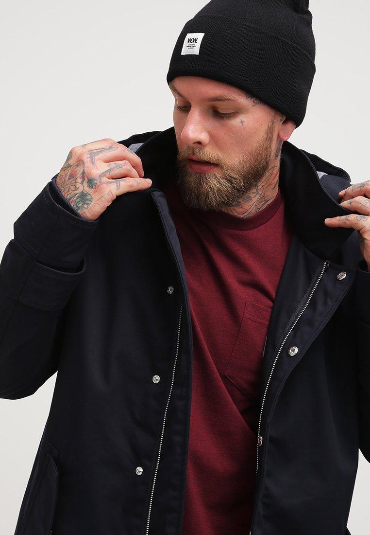 Wood Wood - GERALD TALL BEANIE - Mütze - black
