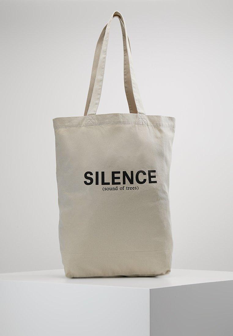 Wood Wood - DESI TOTEBAG - Shopping bag - light khaki