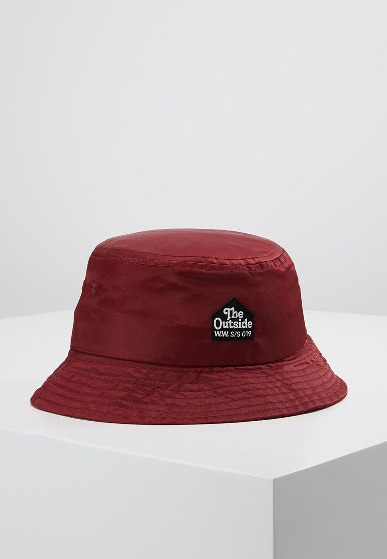 Wood Wood - BUCKET HAT - Sombrero - burgundy