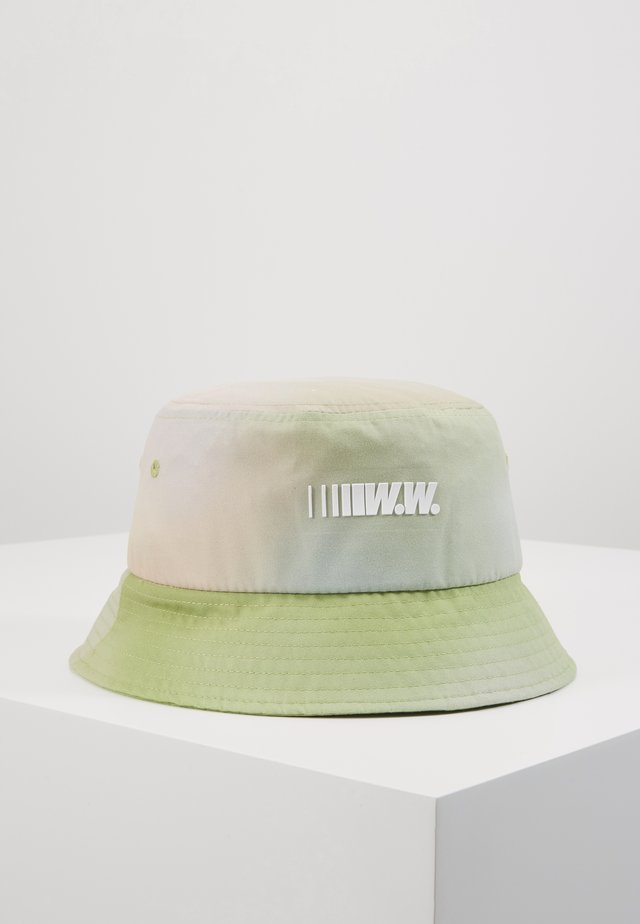 BUCKET HAT - Hut - green aop