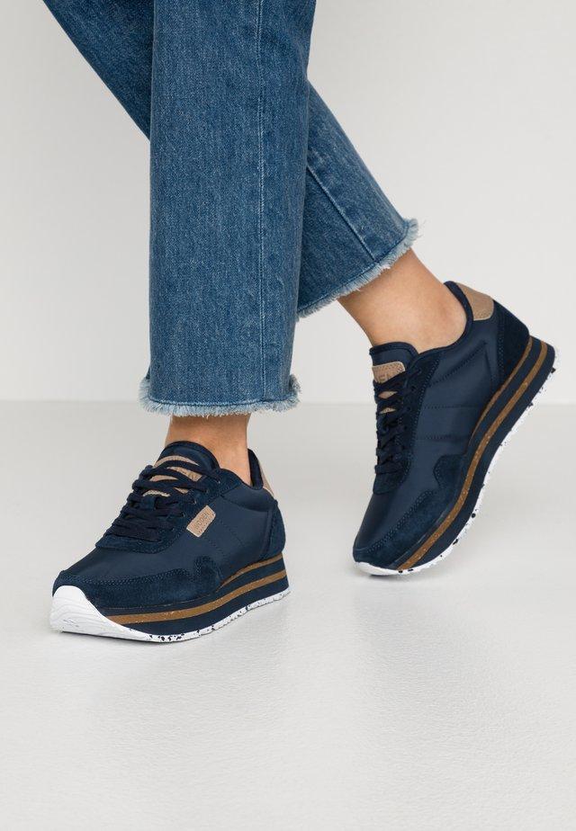 NORA PLATEAU - Sneaker low - navy