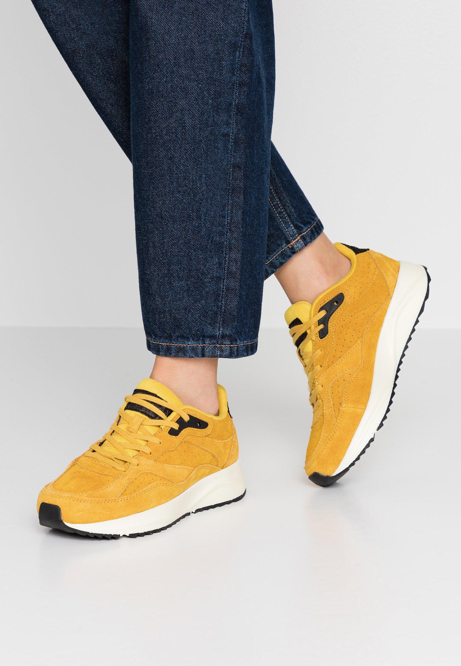 Woden Sophie- Sneakers Laag Mango