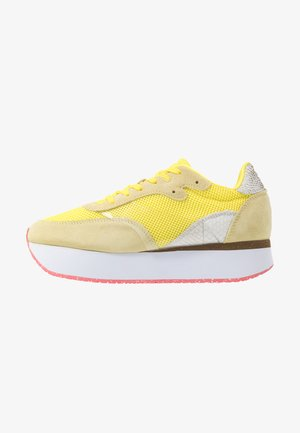 LINEA - Trainers - blazing yellow