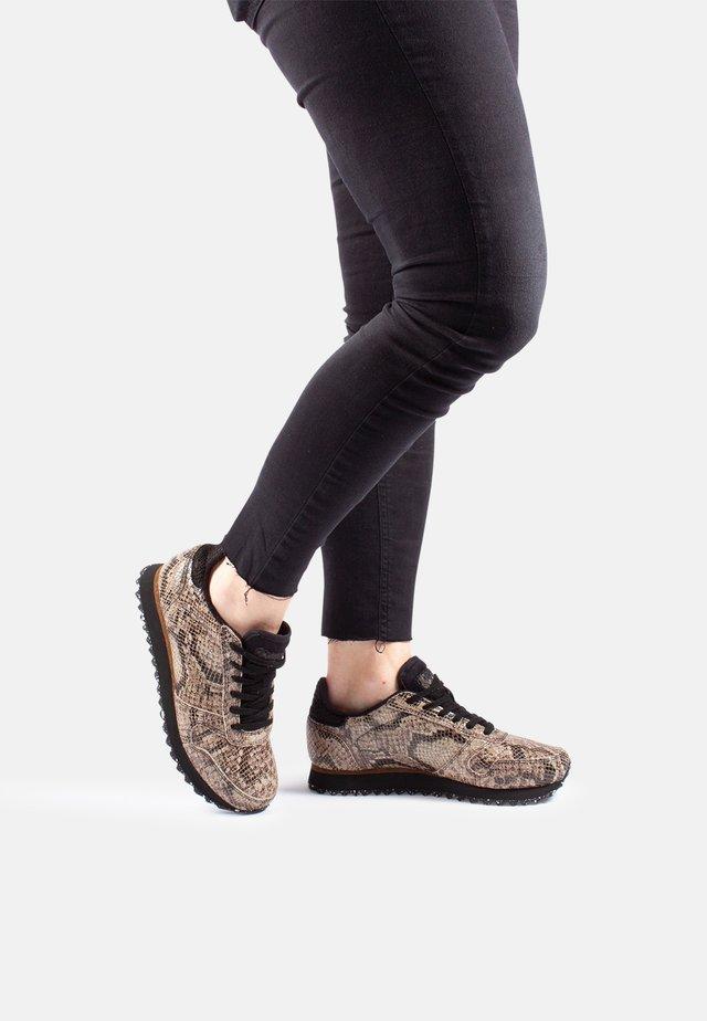 YDUN SNAKE - Sneakers basse - braun