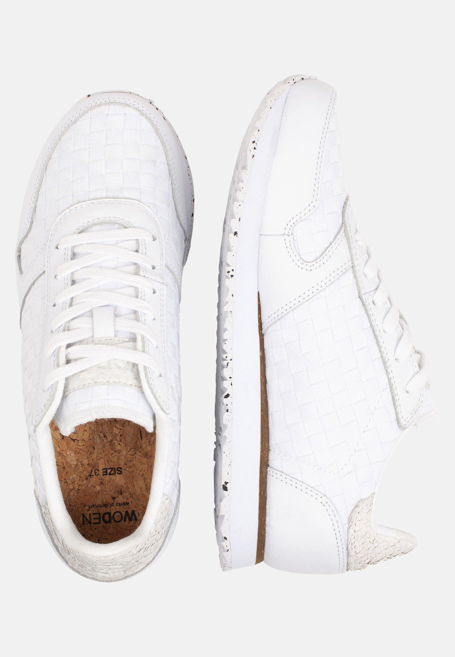 Woden Ydun Nsc - Sneakers Laag White Goedkope Schoenen