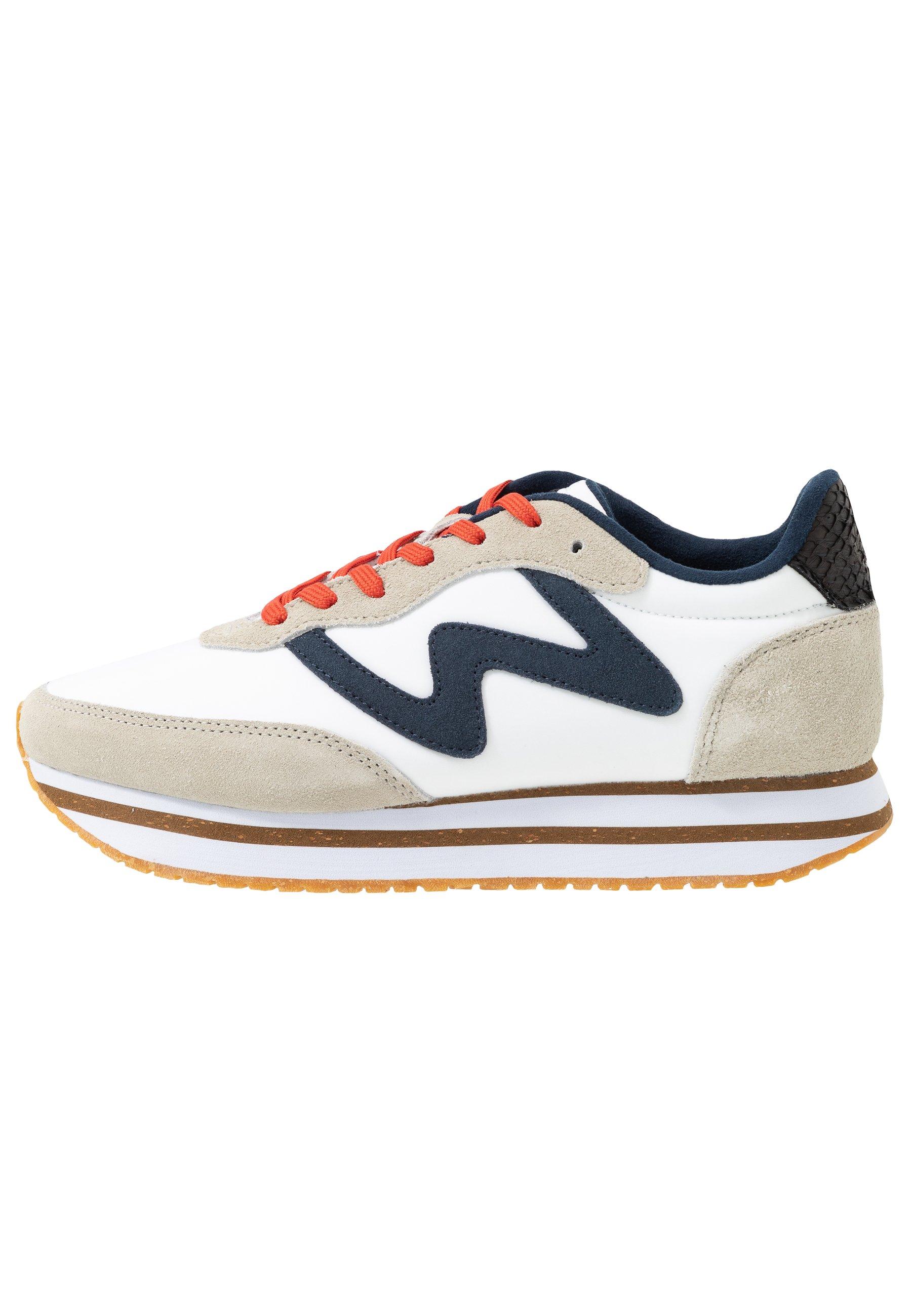 Woden OLIVIA PLATEAU II Sneaker low bright white