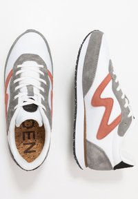 Woden - OLIVIA II - Sneakers laag - autumn grey/white - 3