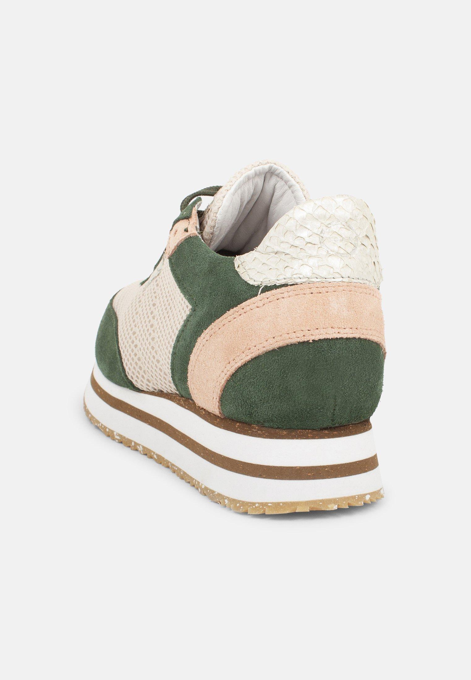 Woden Baskets basses - grün