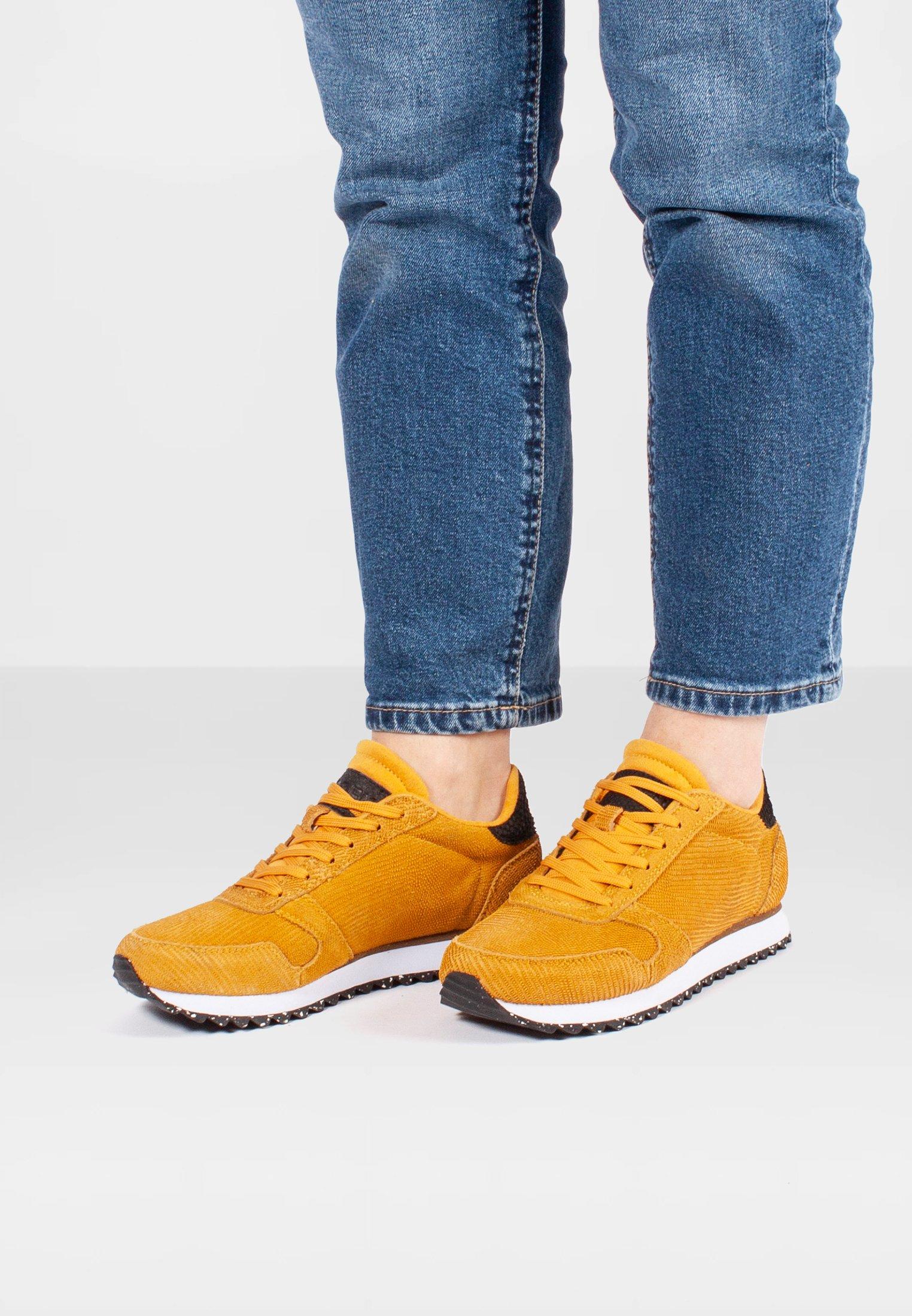 Gutes Angebot Woden Sneaker low - orange | Damenbekleidung 2020