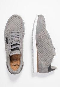 Woden - YDUN SUEDE MESH - Sneakers basse - autumn grey - 3